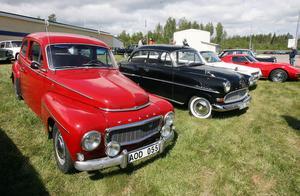 Den röda PV:n fick många att stanna till och minnas hur det var under 50-talet, som var PV:ns glansdagar.