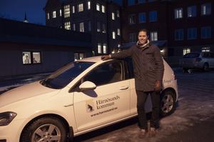 Fredrik Mattsson, verksamhetschef hemtjänsten och hemsjukvård Härnösand. Bild: Härnösands kommun.