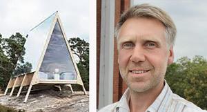 Olle Tejle har fullt upp med projektet Zero Island på Lidö. Foto: Neste Stina Götbrink