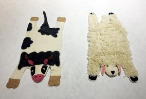 De här gulliga djurmattorna i 100 procent ull kommer från Klippan Yllefabrik. De har ett rekommenderat butikspris på cirka 1400 kronor. Finns också som igelkott, då är det rekommenderade priset cirka 2400 kronor. Går att köpa bland annat på frapp.se