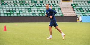 Pol Roigé gjorde under tisdagen sin första träning med sin nya klubb GIF Sundsvall.