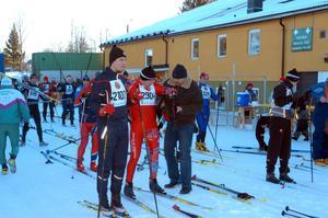 Fram till 2004 startade Halvvasan i Evertsberg med att åkarna först åkte åt fel håll.