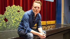 Regissören Patrik Pettersson.