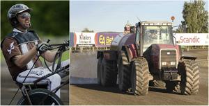 Daniel Redén vann tre lopp på Bollnästravet på söndagen och var imponerad av banans fina skick.