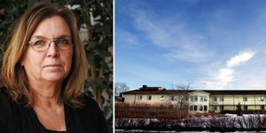 Verksamhetschef Helena Carlsson håller i den successiva nedläggningen av äldreboendet Hällbacka i Söderfors. Foto: Tierps kommun/arkivbild.