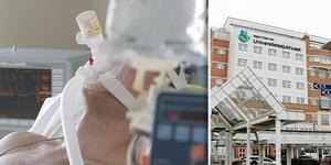 Trots det stora behovet av intensivvård har USÖ minskat sina intensivvårdsplatser med 25 procent. Foto: Erik G Svensson/Arkiv