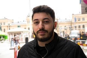 Emad Alhanoun, 23, frisör, Bergsåker: