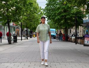 Anna vill att ungdomarna ska ha en trygg och levande stad att växa upp i.