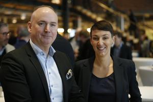 Christophe Pedroletti och Pamela Mazzocato, Södertälje sjukhus.