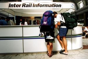 Tågluffen har blivit populär igen. Förra året ökade antalet sålda Interrailbiljetter med 60 procent. Foto: Björn Larsson Ask/SCANPIX.