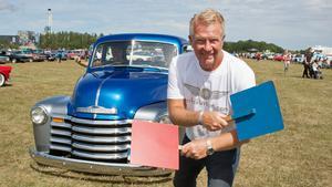 Pappa Lars-Åke Krantz är känd motorprofil i Härnösand.