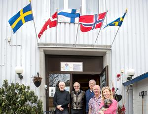 Härmed är museet för Sundsvalls Luftvärnsregemente invigt på Södra bergets vandrarhem. Eldsjälarna Billy Norberg, Bert Blomqvist och Sören
