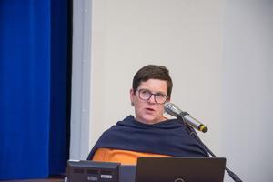 Kerstin Arnemo (C) konstaterade att alliansens budget och S-budgeten var oerhört samstämmiga.