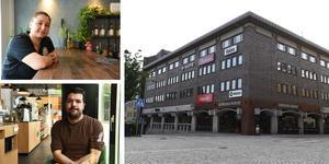 Örnsköldsviks kommun vill höja parkeringstaxan i Paradisgaraget. Nu är kaféägarna oroliga att det ska bidra till att fler undviker att åka in till stan.