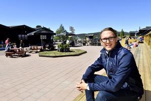 Tommy Halvarsson, marknadschef på Idre Fjäll.