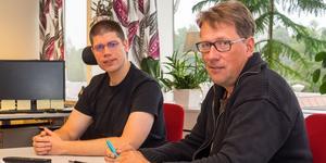 Delårsbokslutet var ingen munter läsning för Lars-Gunnar Nordlander(S) och Anders Häggkvist(C), delar av den styrande majoriteten i kommunen. Men det finns ljuspunkter.