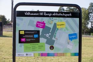 Aktivitetsparken i Hovsjö är invigd. Den består av tre delar, sportytan, innergården och Körbärstorget