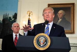 Nu har Donald Trump bättre möjligheter att driva sin egen politik.Foto: AP