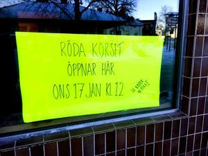 På onsdag får Röda Korset dubbelt så mycket butiksyta i Säter.