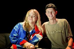 Thelise Forsström intervjuade Victor Leksell efter konserten på Göransson Arena.