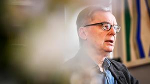 Anders Olsson, västeråsare och tillförordnad ständig sekreterare för Svenska akademien. Foto: Erik Simander / TT