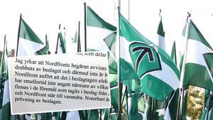 Nordfronts utgivare kräver att beslagen hos den brottsmisstänkte Sundsvallsbon hävs – men åklagare Lo Jonsson yrkar att begäran avvisas.