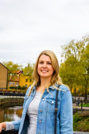 Therese Vesterholm, entreprenör i Falun som driver Falu Bröd&Patisseri. Hon är först ut i vår nya artikelserie om unga entreprenörer.