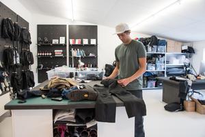 Industridesignern Jacob von Matern har drivit sin studio i Nynäshamn i över ett år.