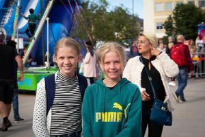 Tilde Ludvigsson och Frida Björn.