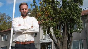 Rör inte vår närdemokrati! Jonas Tilly, Kolsva, är en av grundarna av Kolsvaupproret mot planerna på nedläggning av kommundelsnämnden.