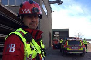Peter Bäcke, räddningschef på Brandkåren Norra Dalarna.