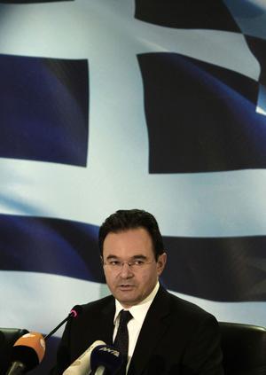 Allvarligt. Greklands finansminister Giorgos Papakonstantinou hade på känn redan i maj förra året vad timmen var slagen för landets ekonomi.