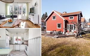 Välskött 50-talsvilla i Stenslund i Falun.
