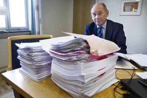 Domaren Göran Ingebrand bakom den omfattande förundersökningen i smugglingshärvan.