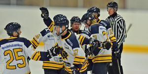 Östervåla är hockeytreans östras snällaste lag så här långt. Foto: Sarah Lundin