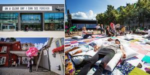 Runt 200 000 personer fler besökte Örebro under Open Art jämfört med i fjol. NA Arkivfoto: Gabriel Rådström / Nathalie C Andersson / Robban Andersson (bilden är ett montage)