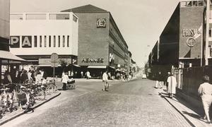 Stora gatan/Vasagatan 1971.