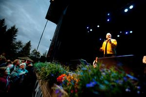 Jerry Williams gästade Skulefestivalen 2012. Foto: Karin Rickardsson