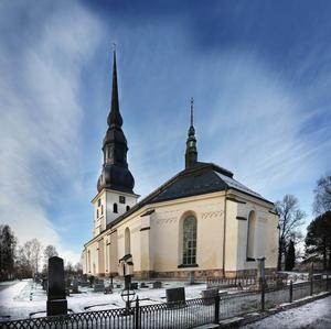 Stora Tuna kyrka. Foto: DT