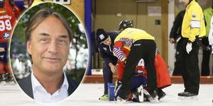 Niklas Marklund forskar på hjärnskakningar och hur idrottare drabbas av långtgående besvär.