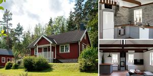 Detta hus utanför Kolsva var det mest klickade på klicktoppen under vecka 40. Foto: Notar