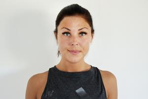 Hanna Strand som öppnar nytt gym i Sundsvall har tidigare tävlat i gymnastik och är personlig tränare.