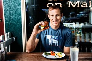 Ethan Brown startade företaget Beyond meat år 2009. Han är själv vegan. Foto: Press/Beyond meat