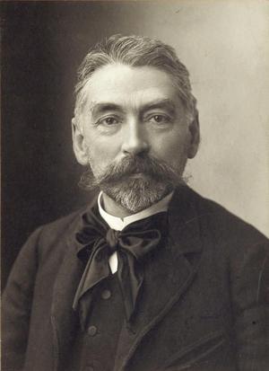 Stéphane Mallarmé 1890. Foto: Paul Nadar
