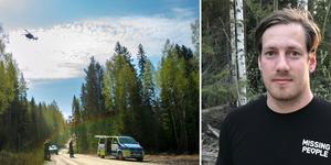 Daniel Viklund, operativ chef Missing people