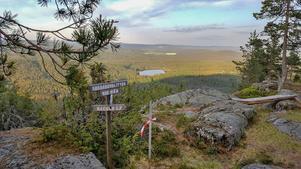 Det finns möjlighet till fantastiska naturupplevelser. Här är en checkpoint på  Skebergsklitten som finns med i årets kartpaket där flera vandringsleder uppmärksammas. (Foto: Tomas Norman)