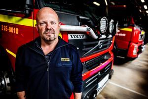Mats Nilsson är räddningschef i beredskap i Malung-Sälens kommun.