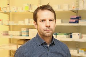 Björn Ericsson, ordförande i Region Gävleborgs läkemedelskommitté, är mycket nöjd med att försäljningen av diklofenakgel har minskat.