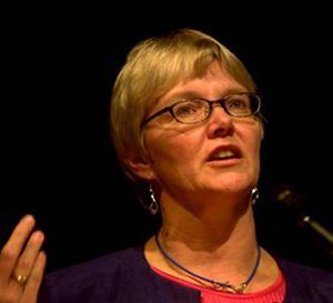 Ewa Back (S), gruppledare i hälso- och sjukvårdsnämnden Landstinget Västernorrland.
