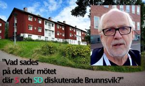 Brunnsviksanläggningen skulle kunna ta emot många krigsflyktingar men toppolitikern Ingvar Henriksson (S) säger nej till det.